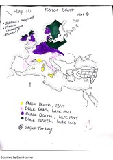 map on crusades