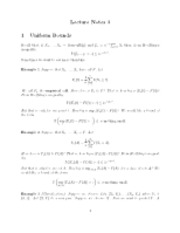 Uniform bounds notes