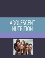 Adolescence.ppt