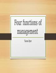 Four functions of management PP [Autosaved].pptm