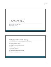 Lecture 8-2