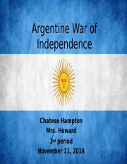 Argentine War of Independence.pptx