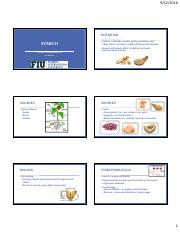 Lecture 5- Starch-Multiple Slides