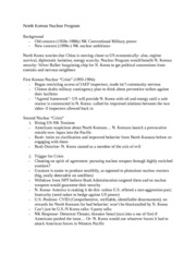 North Korean Nuclear Program_notes_2011