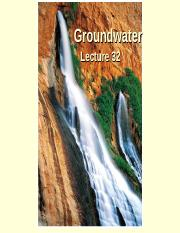 Lecture 32 F 2014- Groundwater.ppt