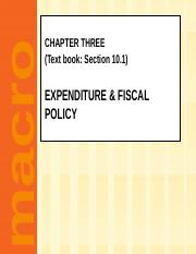 chapter 03-Expenditure & fiscal policy.pptx