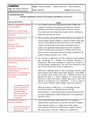Final Literature Review- Cornel Notes
