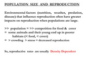 Lecture 11 - population biology 2