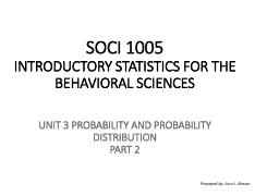 SOCI 1005 UNIT 3 PROBABILITY AND PROBABILITY  DISTRIBUTION - part 2 Pgs. 1-15.pdf