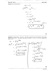 Math 370 Test 2 solutions