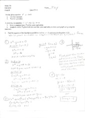 Ch 1 Form B w/ answers