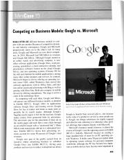 CS-1 Competing on Business Models - Google vs. Microsoft .pdf