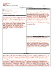 Major works Template.doc