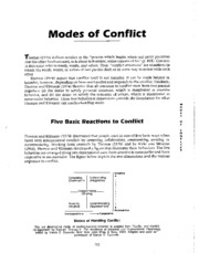 Week5- article - Kilmann 5 Modes of Conflict - Read