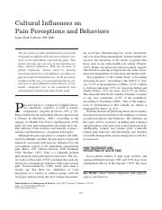 culture, pain perceptions and behaviors.pdf