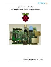 Raspberry-Pi Technical Data Sheet