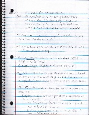 Chapter 4 Notes & Exercises