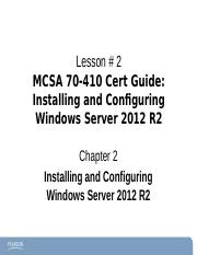 Chapter2Windows2012-70-410 ce