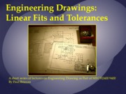 MECH2400 9400 Lecture Linear Fits and Tolerances 2015