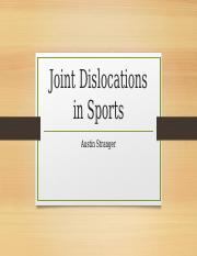 Joint Dislocations in Sports.pptx