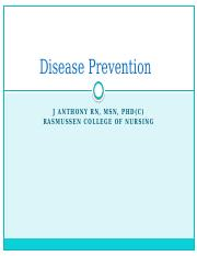 Disease Prevention power point.pptx