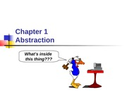 Chapter 01 - Abstraction