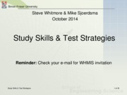 18Study Skills Test Strategies