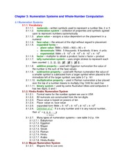 Lecture Notes on  Numeration Systems
