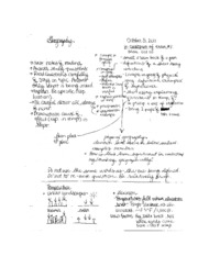 GEOG 100 notes #5