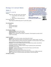 Biol-111-Lecture-Notes
