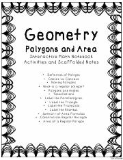 Polygons and Area
