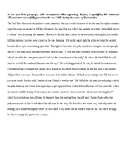 tale tell heart paragraph