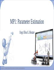 01-Parameter Estimation