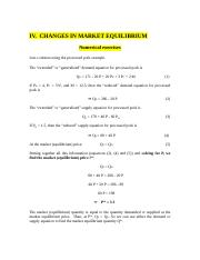 Chapter 2. Changes in equilibrium(1)
