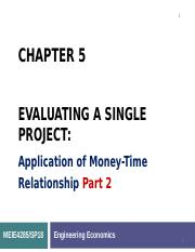 Chapter 5 Evaluating a Single Project_Part 2.ppt