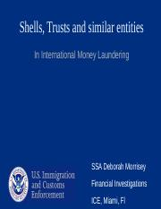 7. Shell and trust establishing beneficial ownership deborah morrissey