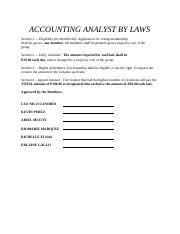 ACCOUNTING ANALYST BY LAWS.docx