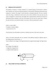 Chapter 1 - Theory of Mechanical Testing