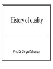 History of quality.ppt