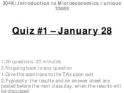 Quiz 1 - January 28 - WITH ANSWERS