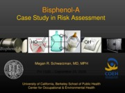 Lecture 9_BisPhenol A Case Study_Sept 24