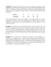 Ch.12 Practice problems UPDATED