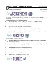 2.1.10 Practice Complete Your Assignment .docx