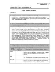 law enforcement ethical dilemma worksheet