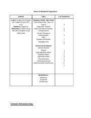 Exam3MetabolicRegulation complete study guide 1