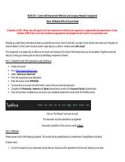 BUSN313 - Self-Assessment Reflection and Company Research Assignment.docx