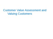 02_Customer_Value_Assessment_and_Valuing_Customers_S1