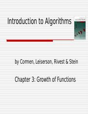 chapter 3 Algorithms 10-4