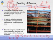 Beam Bending Notes