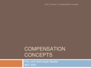 3.1- Compensation and the Law
